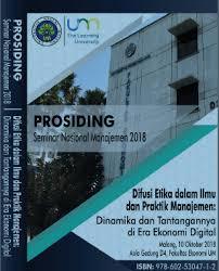 "prosiding seminar nasional manajemen ""difusi etika"