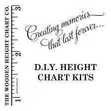 Diy Vinyl Decal Height Chart Kit