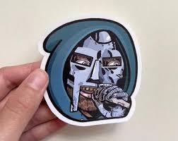 Mf Doom Sticker Etsy