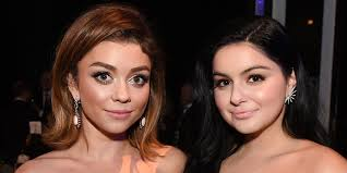 Sarah Hyland defends Ariel Winter's dress at 'Modern Family' party