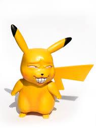 Mô Hình Nhân Vật Pikachu Vui Nhộn Pokemon Figure - Mô hình trang ...