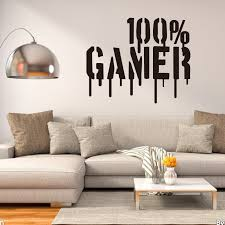 100 Gamer Wall Decals Wall Stickers For Boys Kids Stickers
