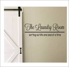 The Laundry Room Vinyl Wall Decal Large Vinyl Decor Laundry Etsy