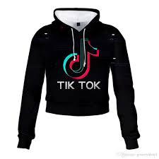 2020 TIK Tok Me Contro Te Hoodie High Waist Sweater Exposed Belly ...