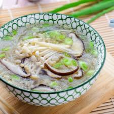 Mushroom Soup Recipe With Enoki ...