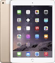 Best Buy: Apple iPad Air 2 Wi-Fi + Cellular 128GB Gold MH332LL/A