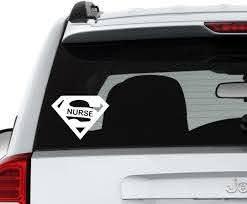 Lpn Car Decal Licensed Practical Nurse Nursing Outdoor Truck Sticker Caduceus For Sale Online Ebay