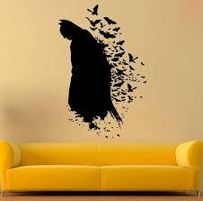 The Dark Knight Vinyl Sticker Dc Comics Interior Kids Etsy Batman Wall Batman Decor Wall Stickers Cartoon
