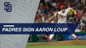 Aaron Loup signs with the Padres - YouTube