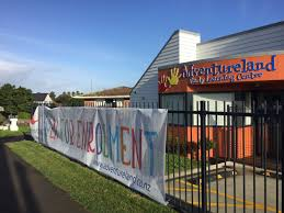 Outdoor Mesh Banners Fence Mesh Banners Flag Signs Nz Teardrop Flag Banners Footpath Signs