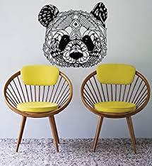 Amazon Com Wall Window Decal Sticker Panda Bear Head Face Cute Animal Kids Room Girl Boy Nursery 983b Baby