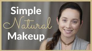 simple natural everyday makeup look