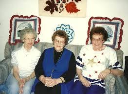 Photos: Helen Schoonover, Hilda Peterson and Hazel Koenen