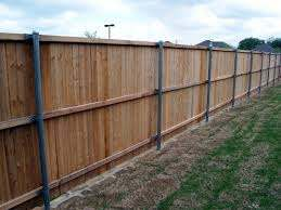 Wood Fence On Aluminum Fence Post Cheap Wood For Fencing By Ralf Wood Fence Outdoor Wood Wood