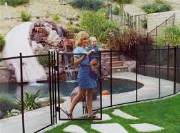 Original Pool Fence Swimming Pool Safety Outside Pool Removable Pool Fence