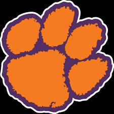 Clemson Tigers Paw Logo Vinyl Decal Sticker 5 Sizes Sportz For Less
