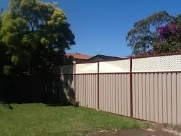 Lattice Height Extension Panels 600mm H Colorbond Fence Height Extensions Fence Height Extension Kits