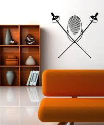 Vinyl Wall Decal Sticker Fencing Equipment Os Aa703 Stickerbrand