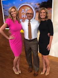 "Jen Carfagno on Twitter: ""The gang's all back together! @JimCantore  @StephanieAbrams and I on @AMHQ with special coverage for this first week  of the #AtlanticHurricaneSeason.… https://t.co/HjRdBm22am"""