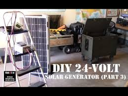 bug out box solar generator