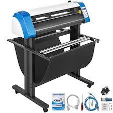 Vinyl Cutter Plotter Sign Cutting 34 Sticker Making Kit Sticker Print Vevor Us