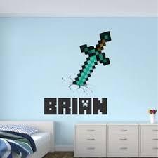 30 Best Minecraft Wall Decals Kids Decor Ideas In 2020 Minecraft Wall Wall Decals Kids Decor