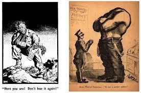 a political cartoon is like an onion