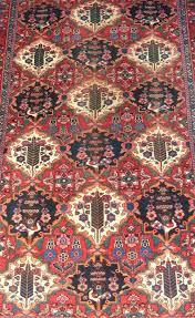 antique bakhtiari carpet room size