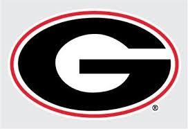 Amazon Com Georgia Bulldogs G Logo 6 Vinyl Decal Car Truck Window Sticker Uga Automotive