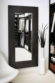 mongstad mirror black brown 37x74 3 4