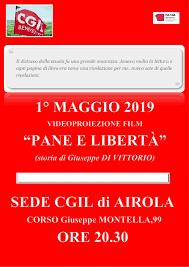 1° MAGGIO 2019 - PROIEZIONE DEL FILM