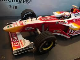Williams F1 1999 Alex Zanardi FW21 Showcar Minichamps die cast 1 ...