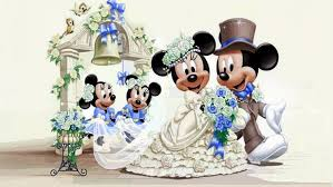 minnie mouse wedding wallpaper hd