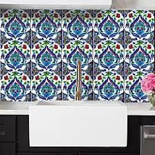 Turkish Tile Wall Decal By Bleucoin