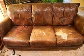 easy quick fix for a battered couch