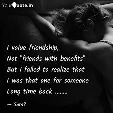 i value friendship not quotes writings by sara yourquote