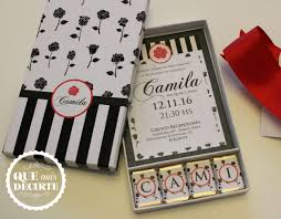 Invitacion En Caja Invitaciones De Caja Invitaciones Caja De Chocolates