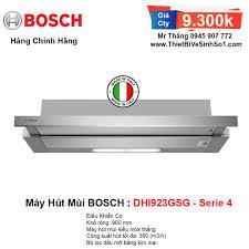 Máy Hút Mùi BOSCH DHI923GSG Serie 4   Tổng Kho Bếp Chính Hãng Hà Nội