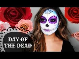 dead sugar skull makeup tutorial