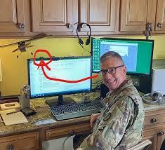 "TRADOC_DCG on Twitter: ""TELEWORK: if I can do it, so can U. 😀 @CG_ArmyROTC  @CG_CIMT @USAREC_CG @ArmyIntelCG @TRADOC… """