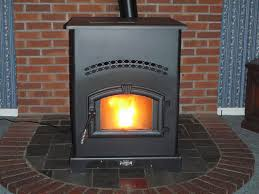 how to install a pellet stove in a corner