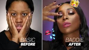 simple makeup tutorial dark skin