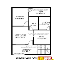 house plan for 24 feet by 33 feet plot