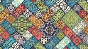wallpaper 4k mandala pattern abstract