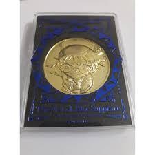 Huy hiệu Conan Movie 23 Cú đấm Sapphire Xanh