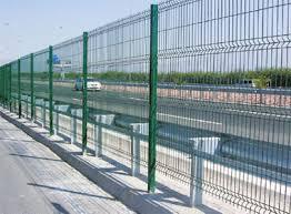 Durafence Coated Steel Wire Fencing Solutions For Transport Infrastructure Bekaert Com