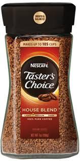 caffeine in taster s choice instant coffee