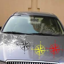 Mayitr 56x30cm Car Landscape Compass Vinyl Sticker Decal Off Road Suv Jeep Buy At A Low Prices On Joom E Commerce Platform