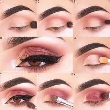 36 y makeup looks for brown eyes