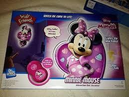 Disney Minnie Mouse Talking Kids Bedroom Night Light Lite Remote Control 504206283